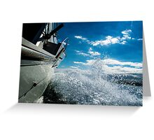 Heading to Port Greeting Card