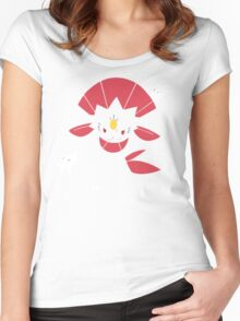 Weavile (Simple) Women's Fitted Scoop T-Shirt