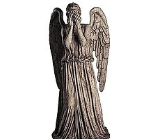 Weeping Angel (white) by Marjuned