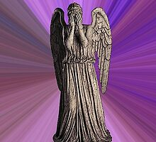 Weeping Angel (Purple Psychedelic) by Marjuned