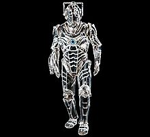 Cyberman (Glowing) by Marjuned