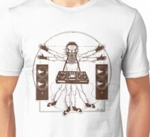 VITRUVIAN ALIEN DJ T-SHIRT #02 Unisex T-Shirt