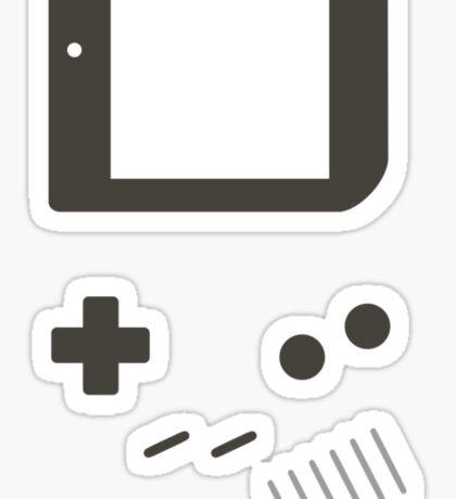GamePlayer White Sticker