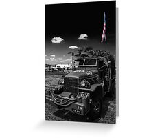 Semper Fi Greeting Card