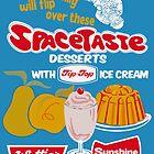 Spacetaste Poster by Darian  Zam