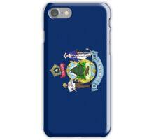 Smartphone Case - State Flag of Maine - Vertical iPhone Case/Skin