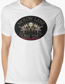 Molon Labe Come Take EPORW Mens V-Neck T-Shirt