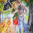 Kissing in the Rain by Jennifer Ingram