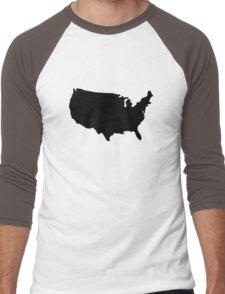Northern United States Men's Baseball ¾ T-Shirt