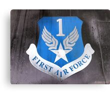 First Air Force Crest  Metal Print