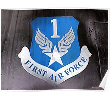 First Air Force Crest  Poster