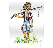 Been fishing Poster