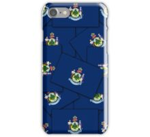 Smartphone Case - State Flag of Maine - Multiple iPhone Case/Skin