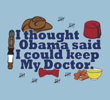 Matt Smith is leaving. Obama lied to us.  by Brantoe