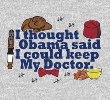 Matt Smith is leaving. Obama lied to us.  Kids Clothes