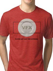 VFX Plate Shot - Filmmaker Tshirt Tri-blend T-Shirt