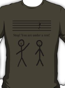 Funny Music Joke T-Shirt T-Shirt