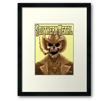 Southern Metal Framed Print