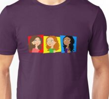 Three Girls Chatting Unisex T-Shirt