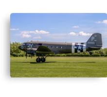 Douglas C-47A 42-1008842/3X-P  Canvas Print