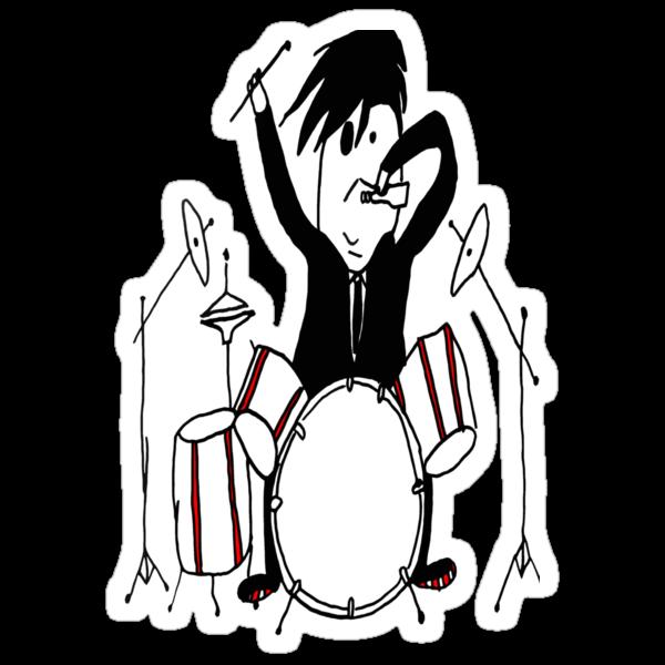 Crazy Drummer by Roberto A Camacho