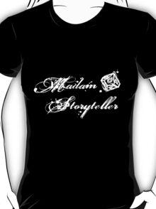 World of Darkness - Madam Storyteller Gritty White T-Shirt