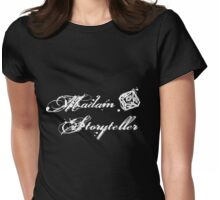 World of Darkness - Madam Storyteller Gritty White Womens Fitted T-Shirt