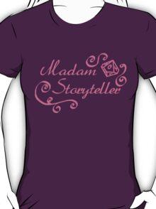 World of Darkness - Madam Storyteller Pink T-Shirt