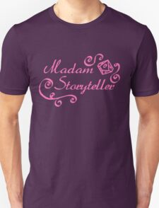 World of Darkness - Madam Storyteller Pink Unisex T-Shirt