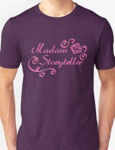 World of Darkness - Madam Storyteller Pink Unisex T-Shirt