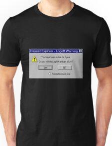 Funny Computer Error T-Shirt Unisex T-Shirt