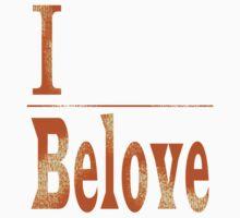 I Belove - Gold Dissolve Front Kids Clothes
