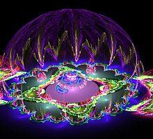 Garden Dome in Space by Kazytc