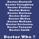 Who will be the new Doctor by RobNichols