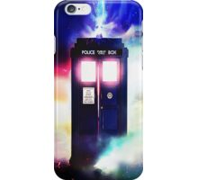 Tardis Doctor Who in Cloud Art Painting iPhone Case/Skin