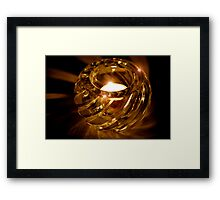 Shimmer, Glimmer, Sparkle, Glow Framed Print
