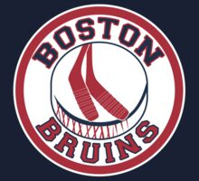 Boston Reduins - Boston Red Sox Boston Bruins MASHUP (Sox Colors) by xnmex