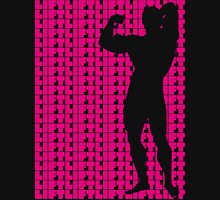 Arnold - Lift Pink (variation 1) Womens Fitted T-Shirt