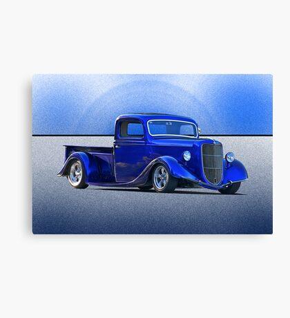 1935 Ford Pick-Up Truck .... Cincinatti Blues Canvas Print