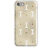 Gold Foil Indian Ornament Pattern iPhone Case/Skin