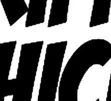 Trippy Chick Sticker