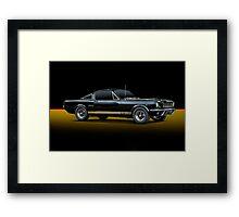 1965 Shelby Mustang G.T.350H Framed Print