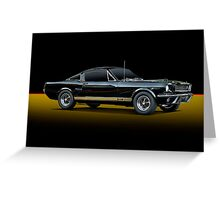 1965 Shelby Mustang G.T.350H Greeting Card