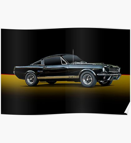 1965 Shelby Mustang G.T.350H Poster