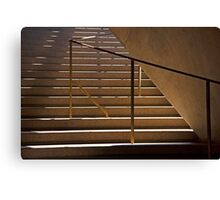 Stairway To The Arts Canvas Print