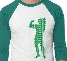 Arnold - Lift Green (variation 2) Men's Baseball ¾ T-Shirt