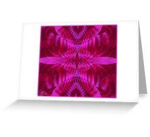 Four Semi Pinks Greeting Card