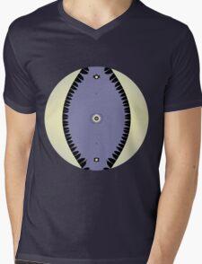 Purple Leaf Mens V-Neck T-Shirt