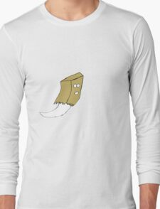 Ghost  Paper Bag Long Sleeve T-Shirt