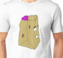 Zombie Paper Bag Unisex T-Shirt